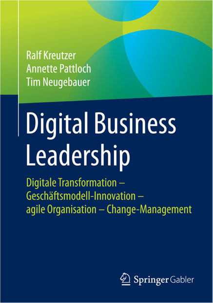 Abbildung des Buches Digital Business Leadership